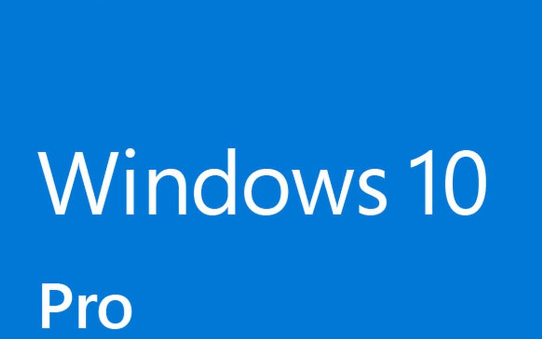 Install and activate Windows 10 Professional